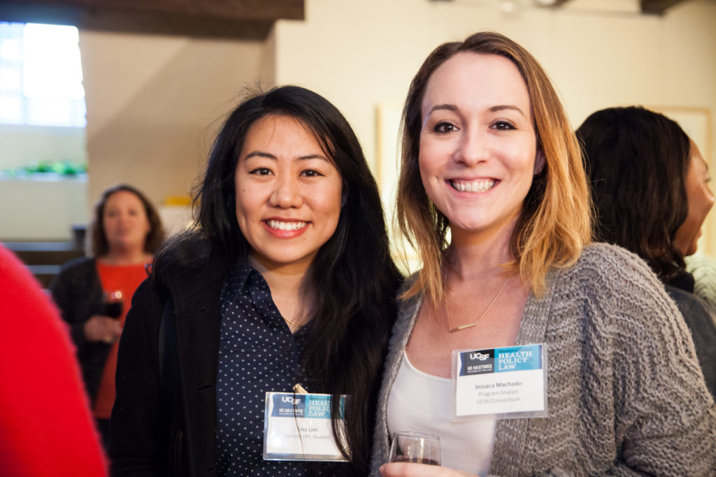 Current student Lisa Lim (left) with HPL program analyst Jessaca Machado