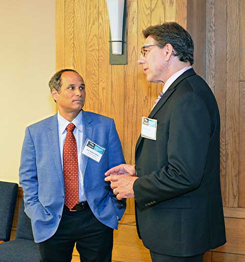Dan Dohan (left) with UC Hastings College of Law Dean Faigman